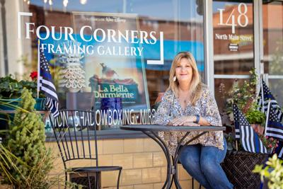 Saragoni recognized as Downtown Mooresville Main Street Champion