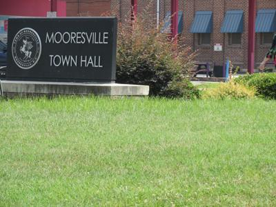 Mooresville Town Hall meeting board generic