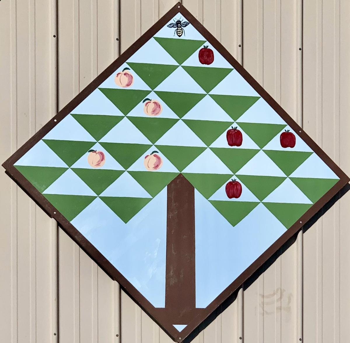 Quilt Trail Bee Sweet Orchards.jpg
