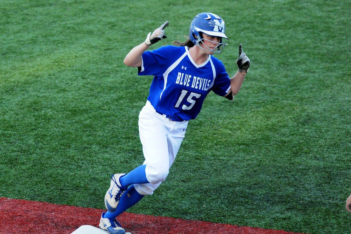 Mooresville-Hickory Ridge softball 1