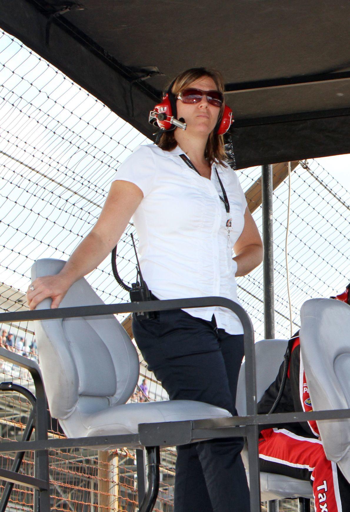 Kelley Earnhardt Miller at Race.jpg
