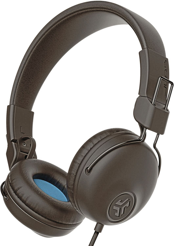 JLab Audio Studio Wired On-Ear Headphones