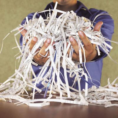 Shred shredder event generic