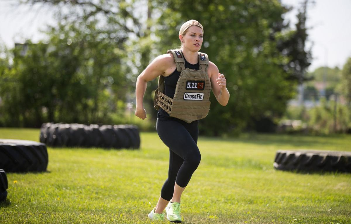Omaha police officer, who is 'tough as nails,' uses CrossFit to stay sharp on the job