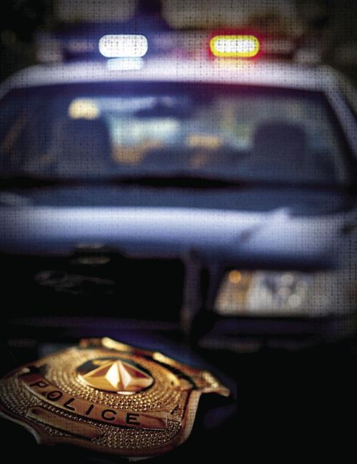 police badge car generic