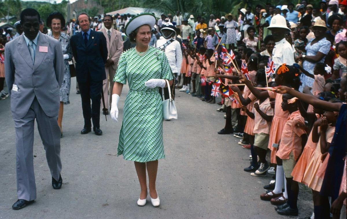 Queen Elizabeth in Barbados