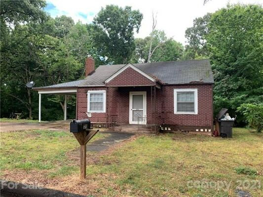 3 Bedroom Home in Statesville - $69,900