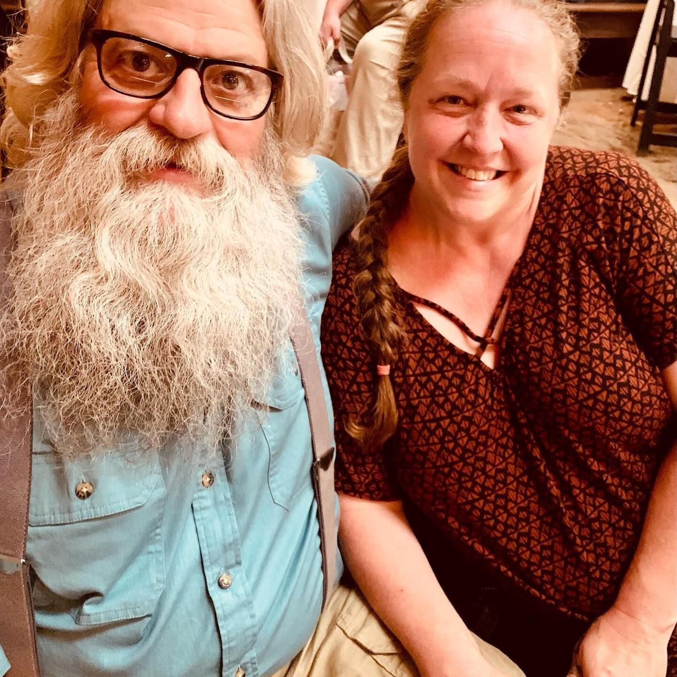 Chuck Hanes and wife Elizabeth Collins Hanes
