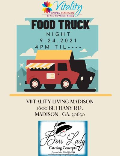 Vitality Living Food Truck night