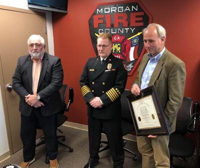 Fire Chief Jeff Stone graduates from FEMA program