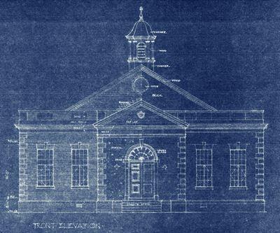 Exterior of City Hall design plans