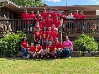 2021 4-H Archery Team