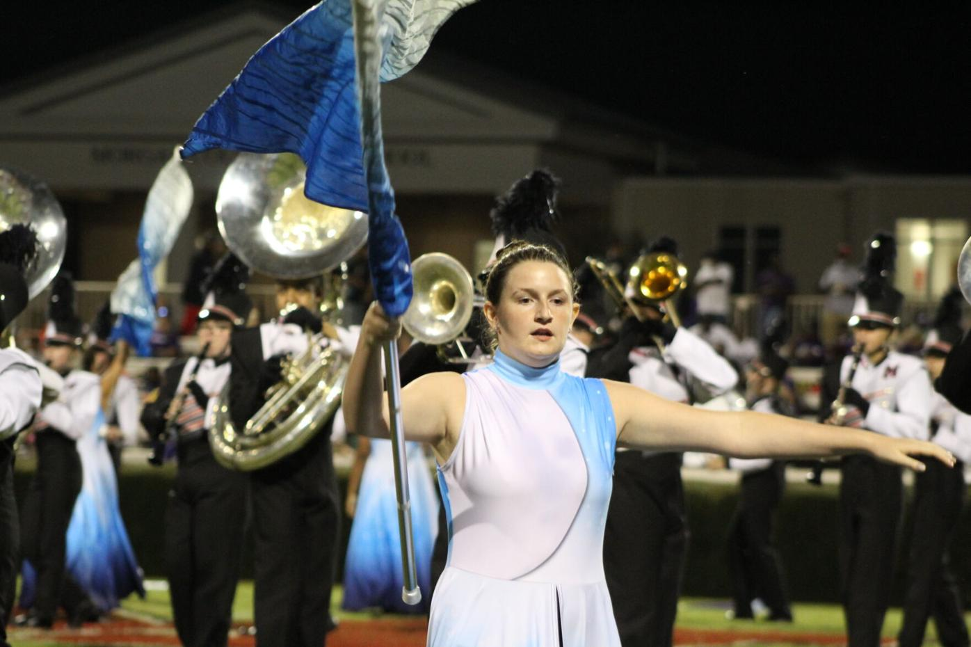 Color Guard and Band