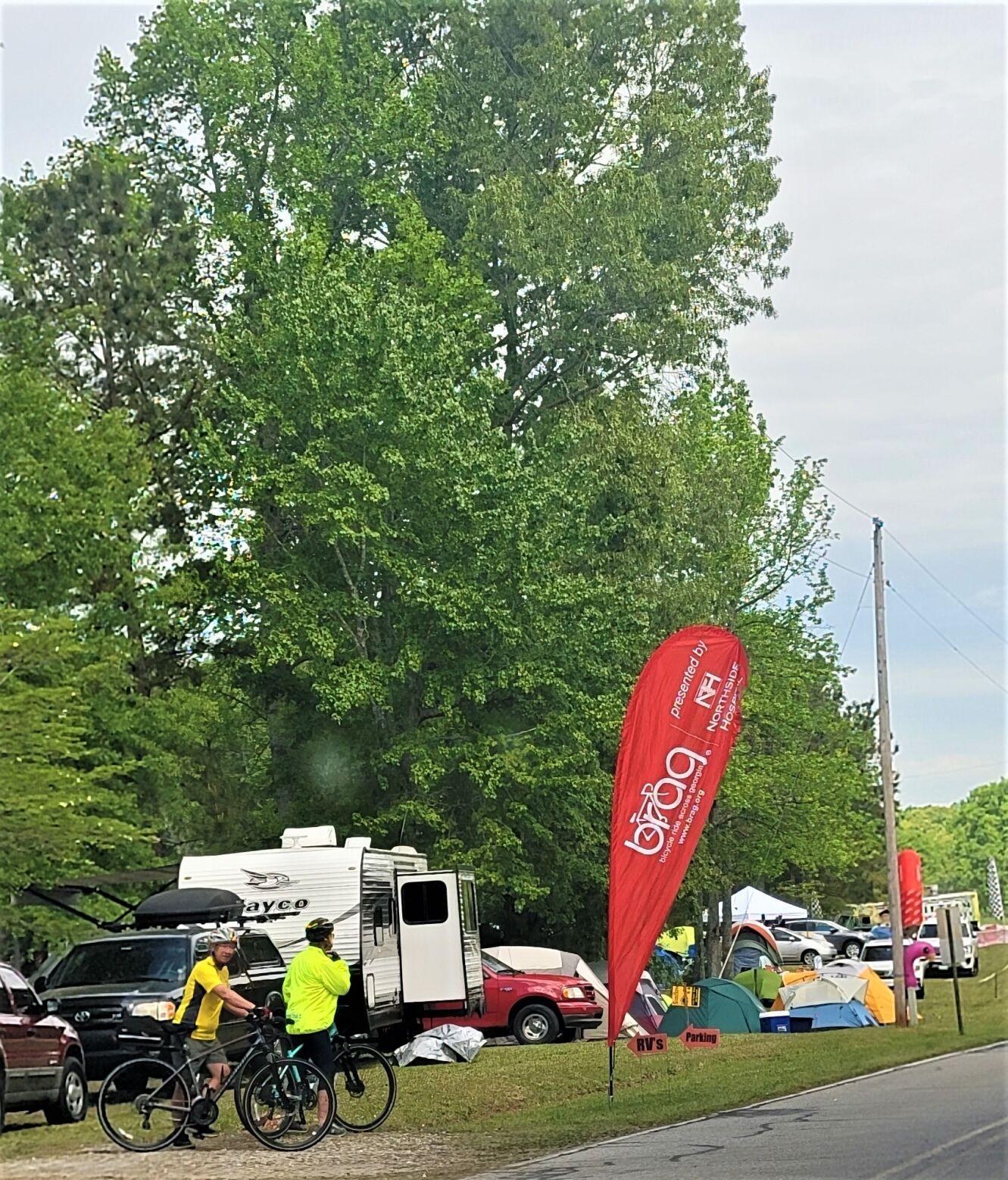 BRAG roadside camping