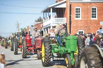 Cotton Gin Festival parade from 2019