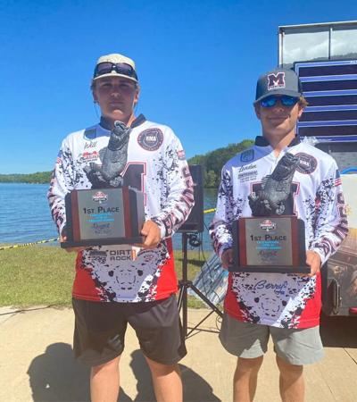 MCHS Bass tourney winners