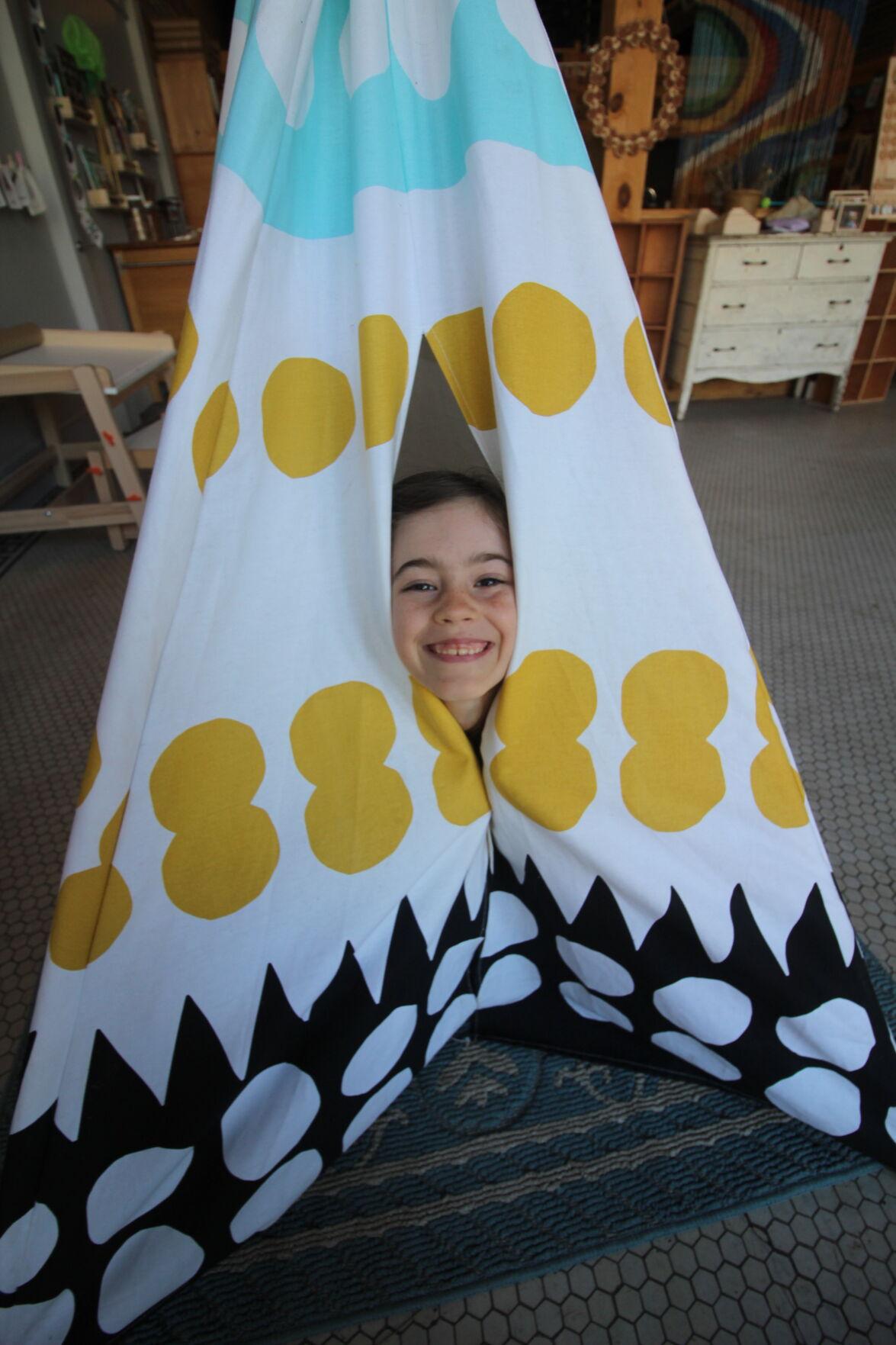 SoulShine Mercantile tent