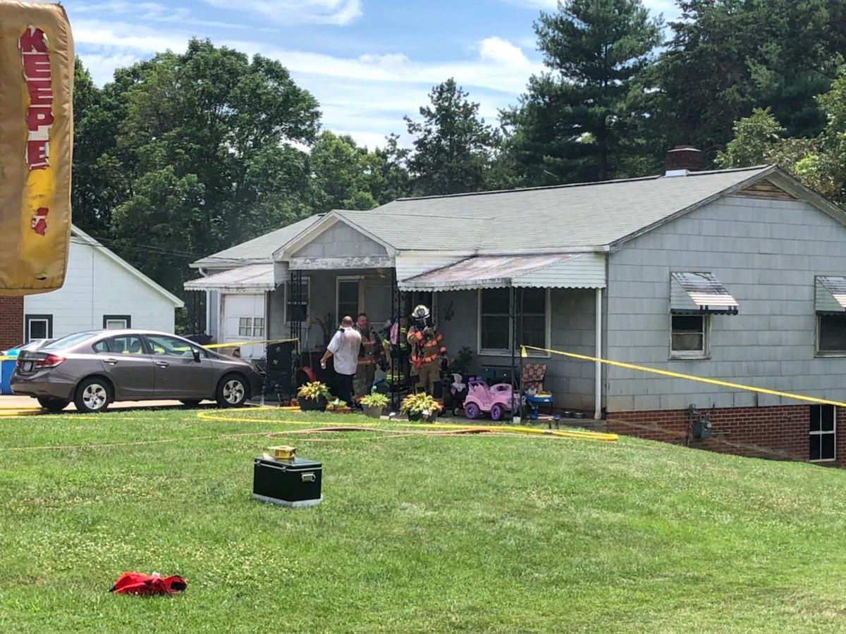 BREAKING: Woman killed in house fire | News | morganton.com