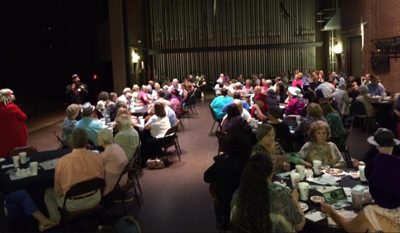 BCPLS murder mystery dinner theater photo