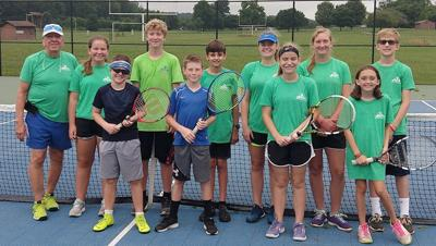 Morg youth tennis team 2019