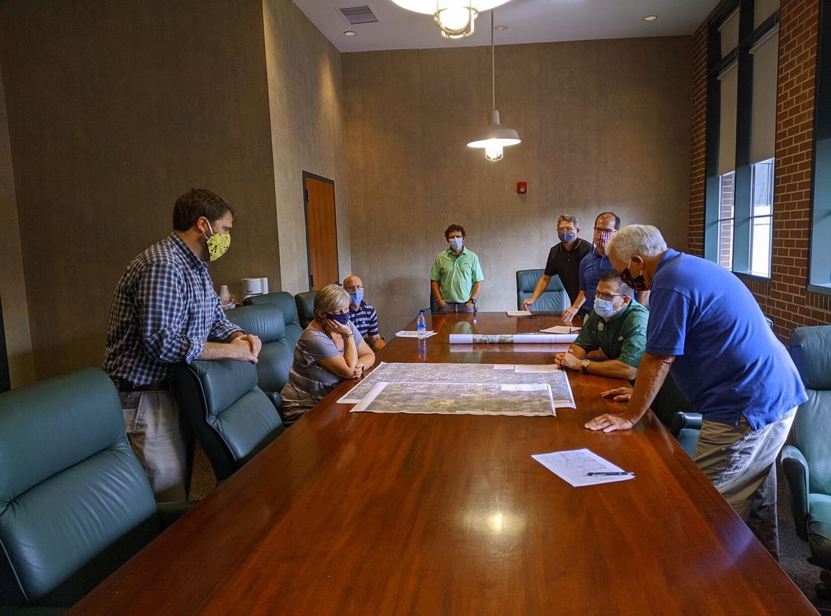 Burke River Trail Morganton meeting photo