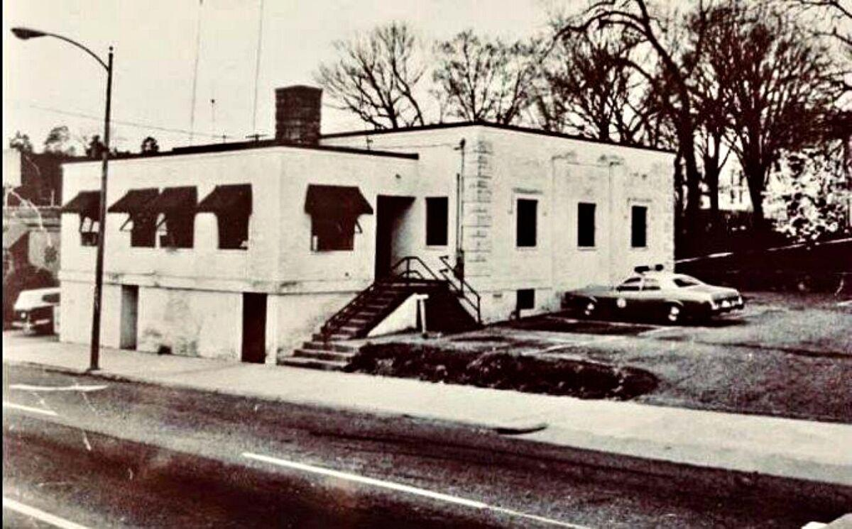 Old Burke County Jail circa 1960s photo
