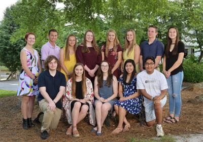 Community Foundation of Burke County 2019 scholarship winners photo
