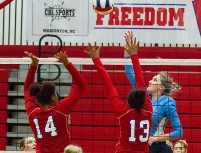 EB volleyball 3, Freedom 0