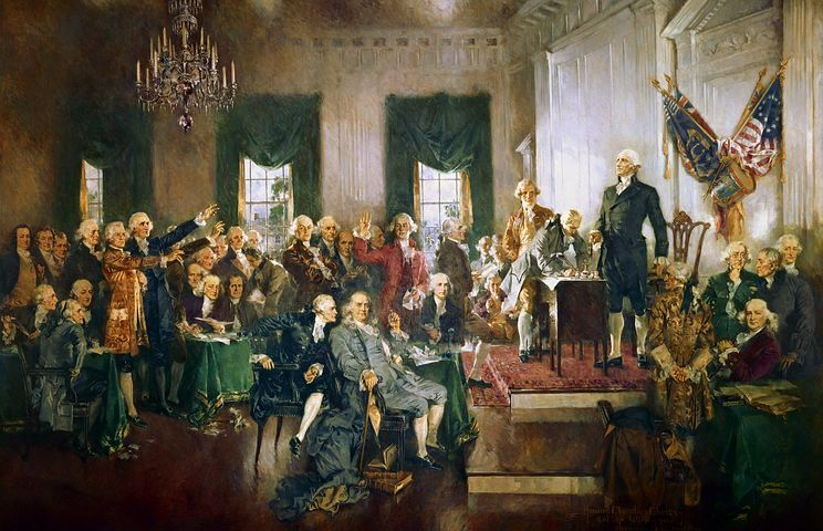 Constitution Week founders photo