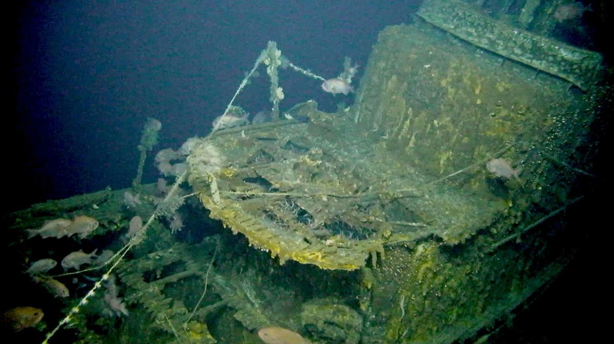 High-tech undersea drones solve the mystery of a WWII submarine missing for 75 years