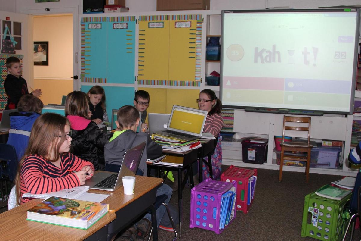 Worksheet Online Elementary School online quiz game kahoot takes off at salem elementary news elementary