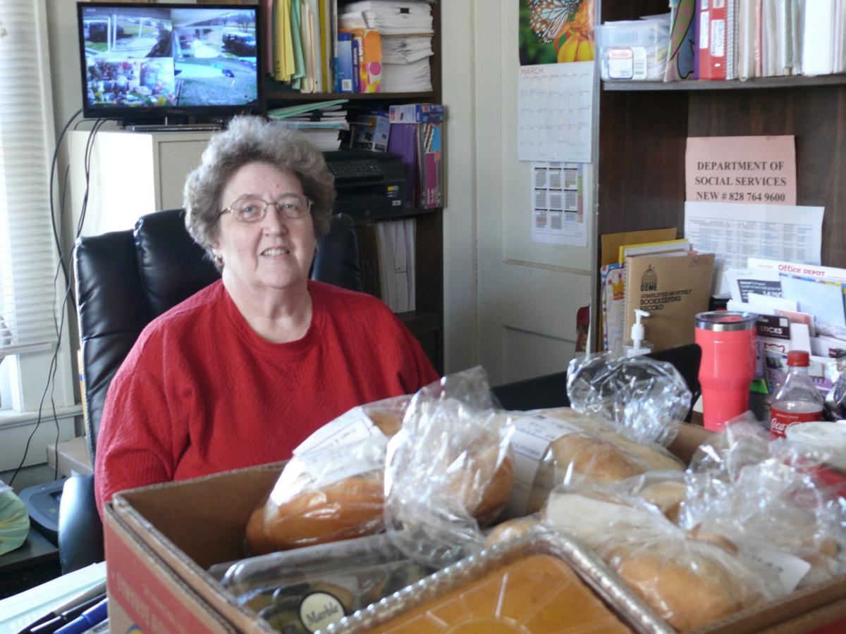 East Burke Christian Ministries food donations photo