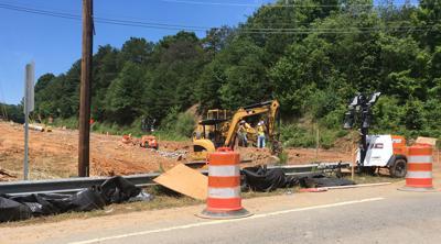 Exit 112 road construction.JPG