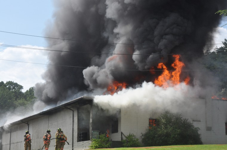16 Different Fire Crews From Across Burke And Caldwell Counties Responded  Monday Afternoon To A Fire At The Wright Table Companyu0027s Furniture Factory  Just ...