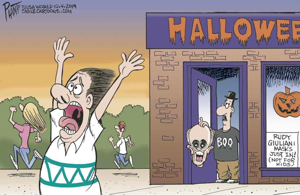 Bruce Plante Cartoon: Rudy, Rudy, Rudy