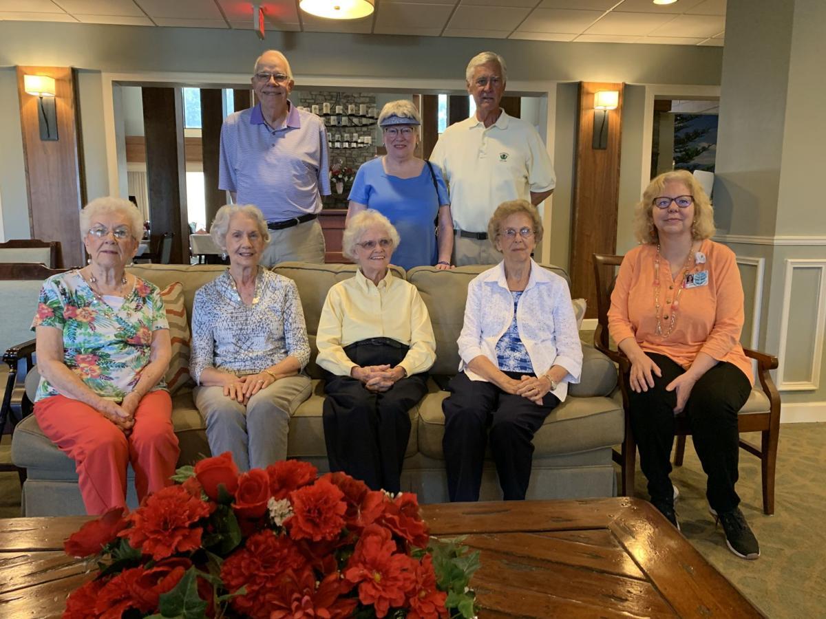 Grace Ridge residents summer memories group photo