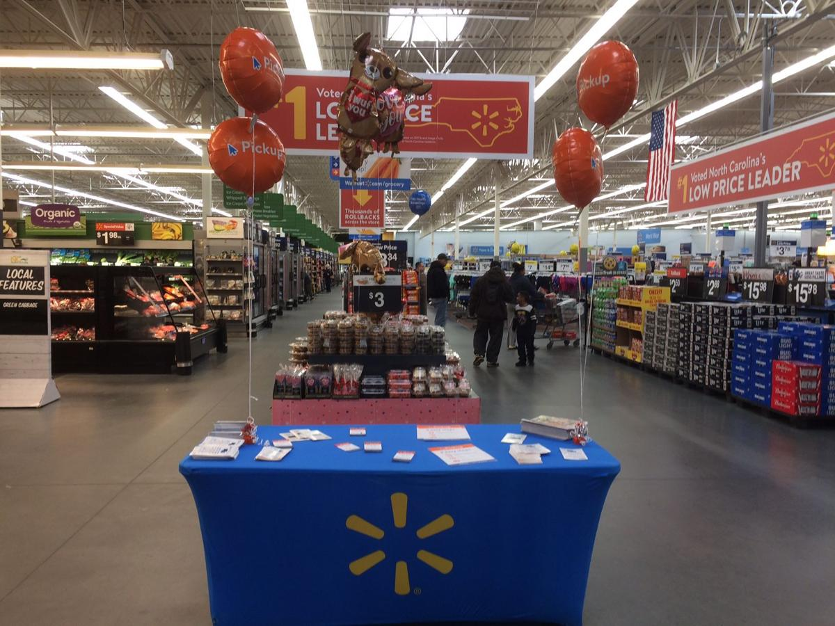 morganton walmart to offer pickup service for online grocery shoppers local news. Black Bedroom Furniture Sets. Home Design Ideas