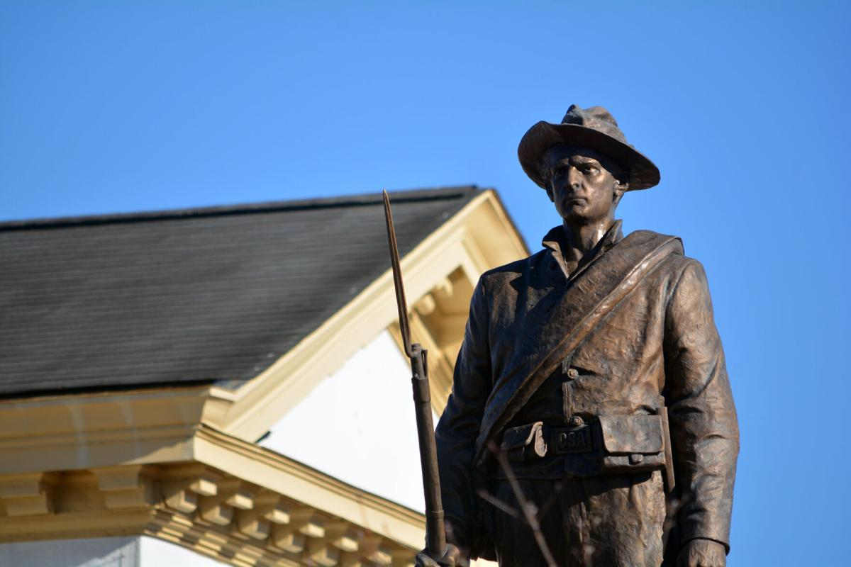 morganton confederate statue horizontal