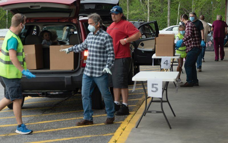 The Outreach Center food distribution pic