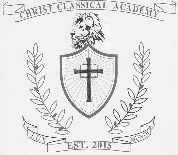 Christ Classical Academy's school crest