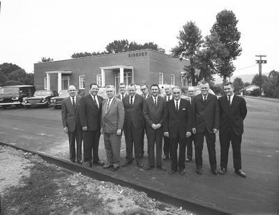 Kirksey Funeral Home Valdese 1962 photo