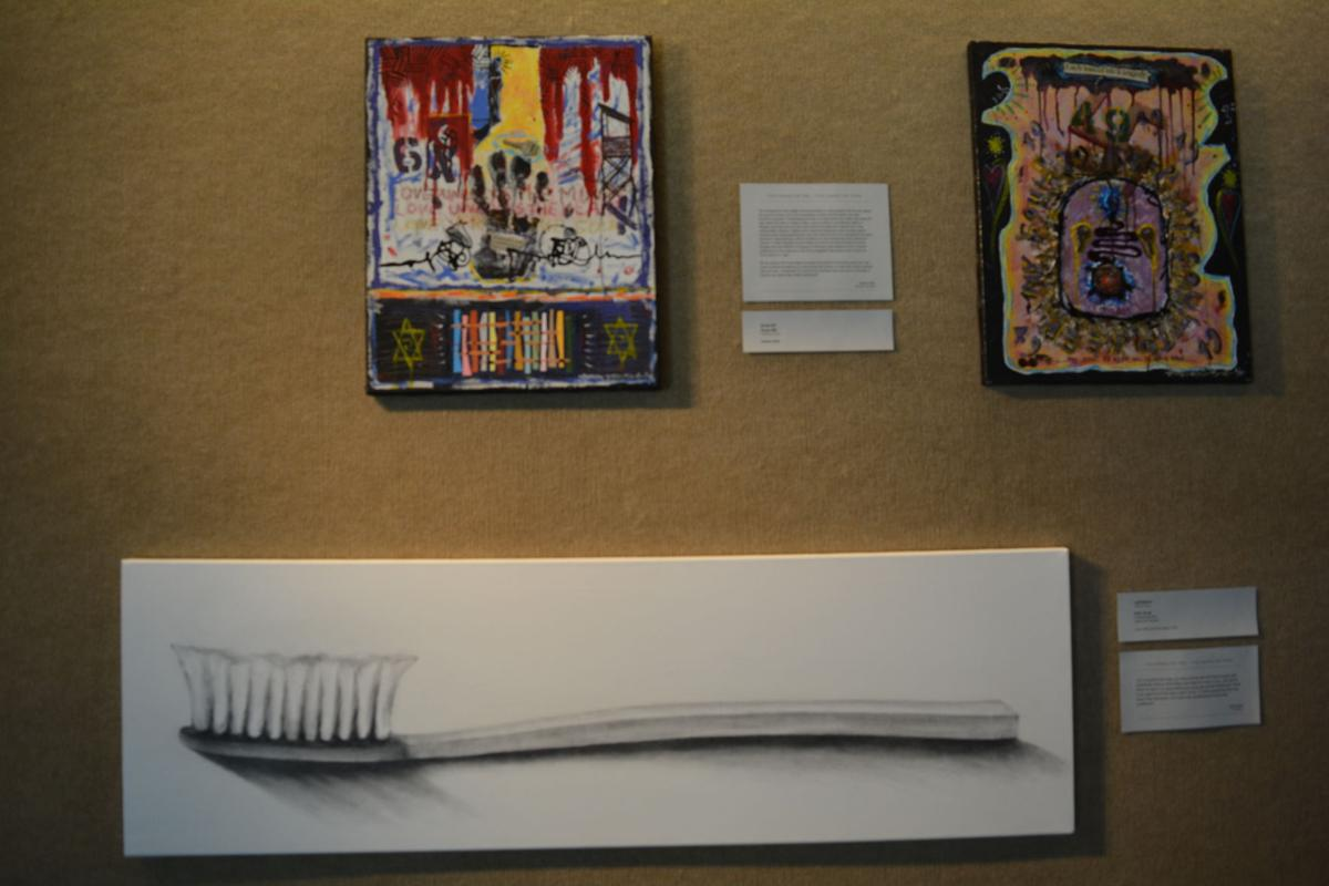 Holocaust art exhibit (3).JPG