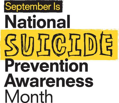National Suicide Prevention Month graphic