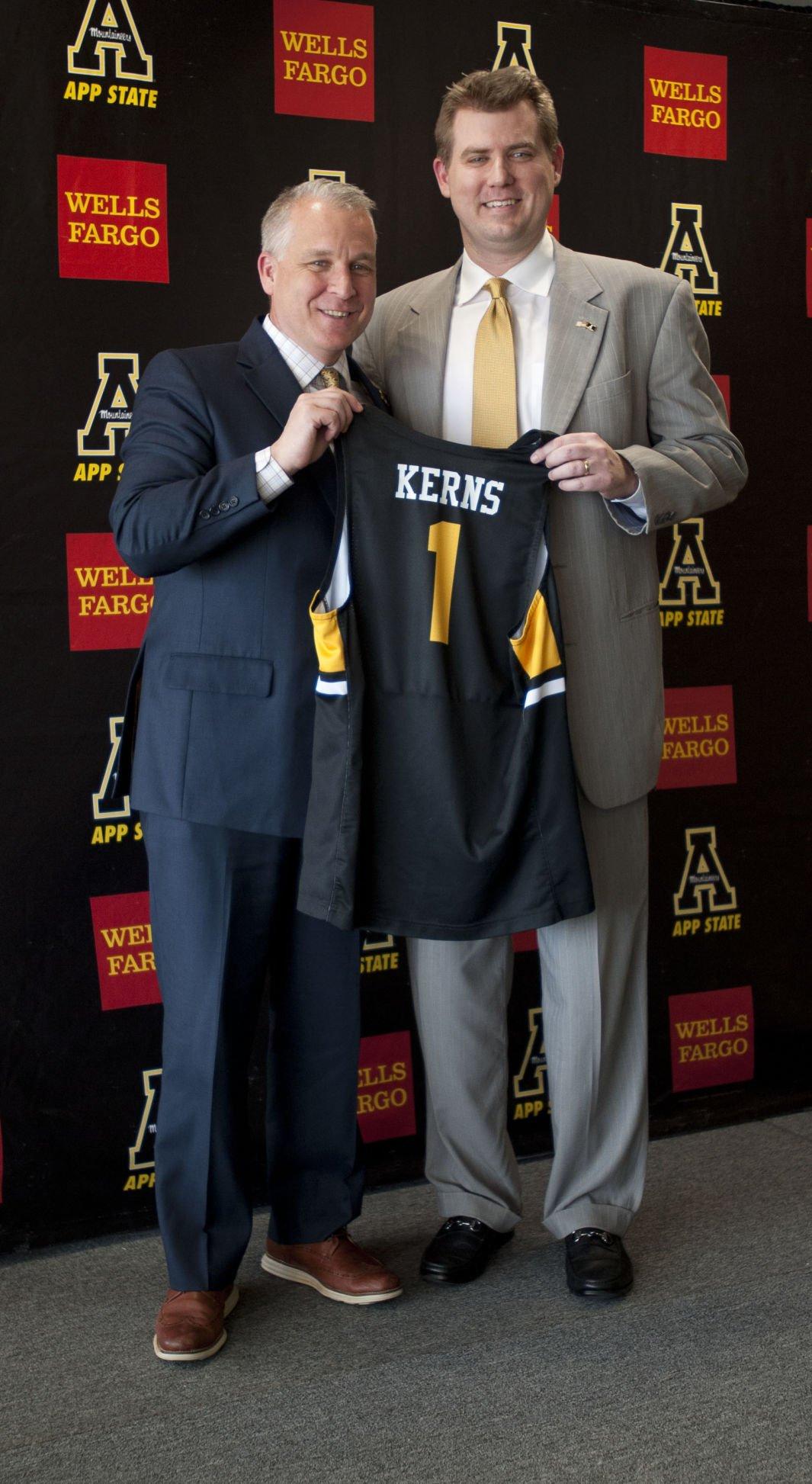 Dustin Kerns press conference
