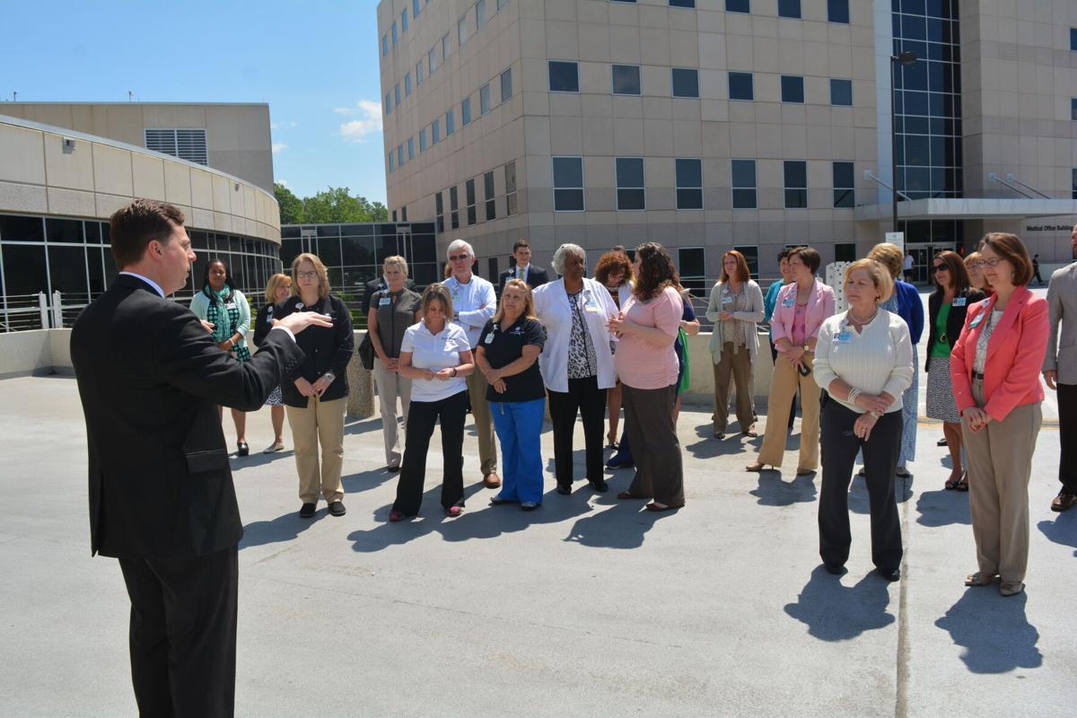 Carolinas HealthCare System Blue Ridge Donate Life ceremony 2016 photo