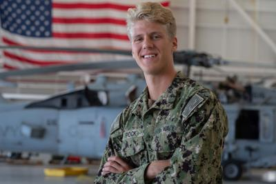 Derek Ipock Navy photo