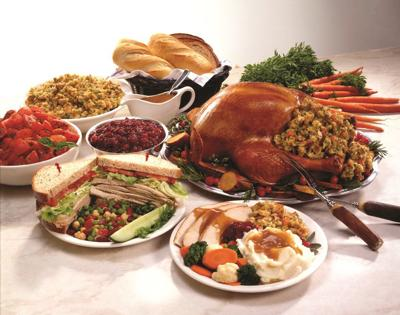 Numerous Local Restaurants Serving Traditional Thanksgiving Meals