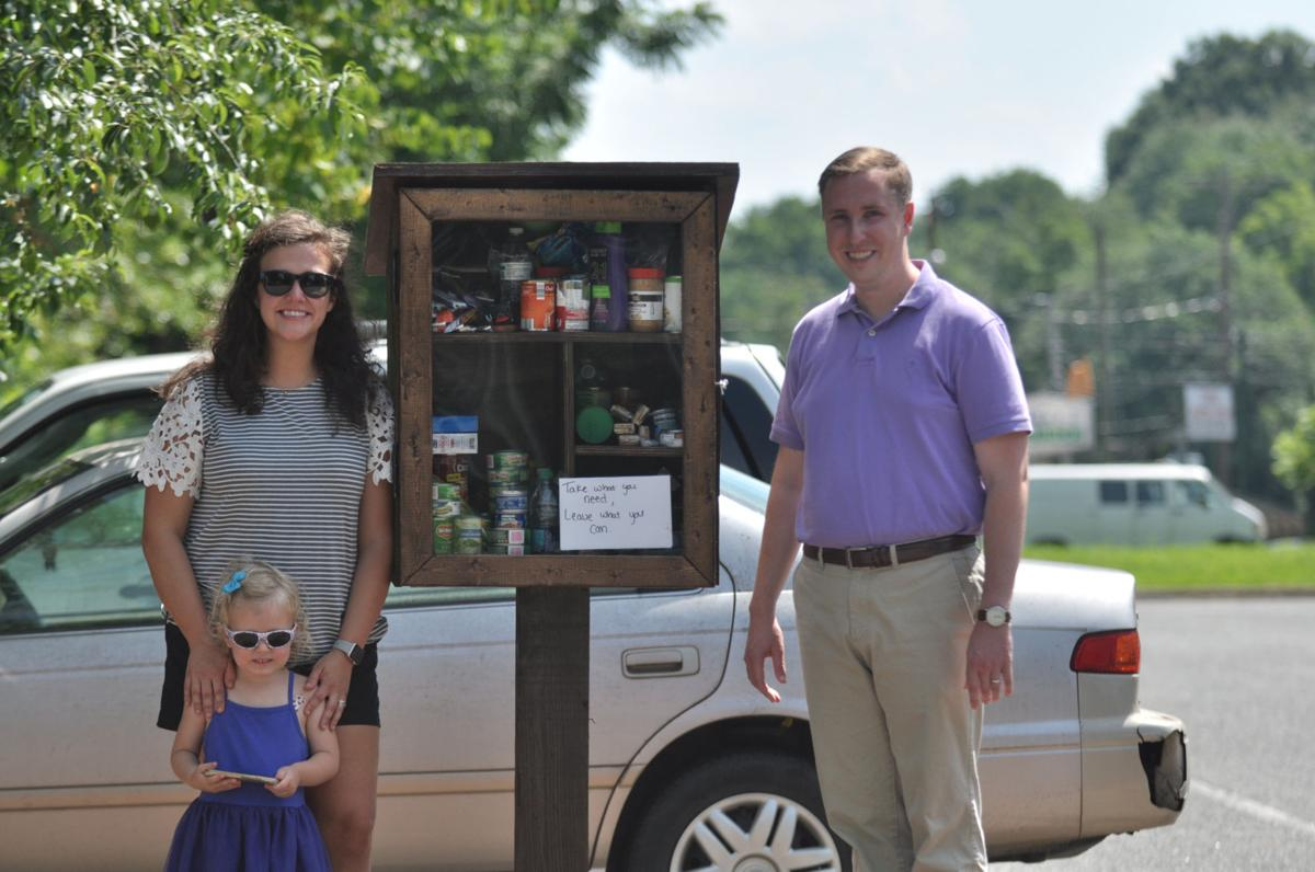 Tiny food pantry aims to help those in need | News | morganton.com