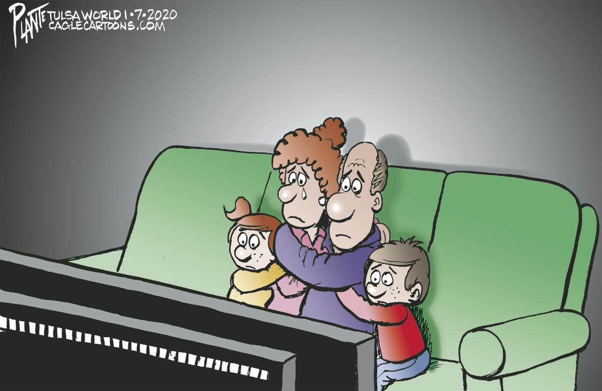 Bruce Plante Cartoon: Iran retaliates