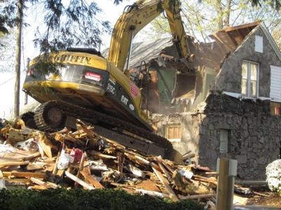 Old Rutherford College town hall demolished | News